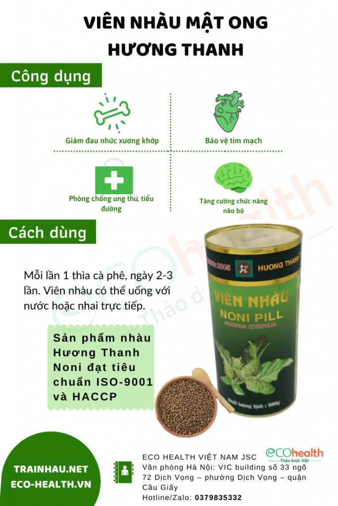 viên nhàu mật ong Hương Thanh