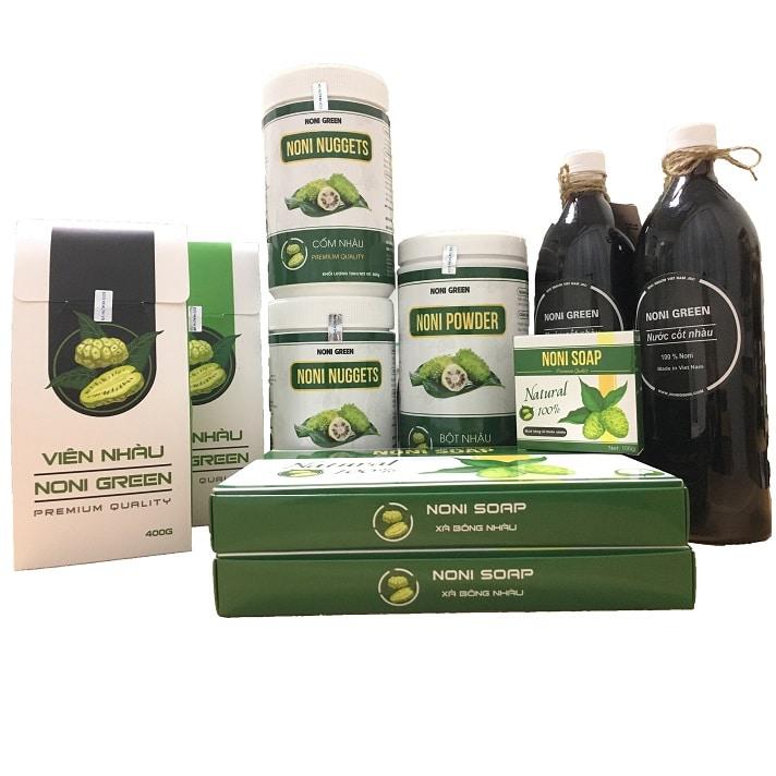 [Combo Giảm 140k] Set 5 sản phẩm Noni Green - Set quà tặng cho sức khỏe