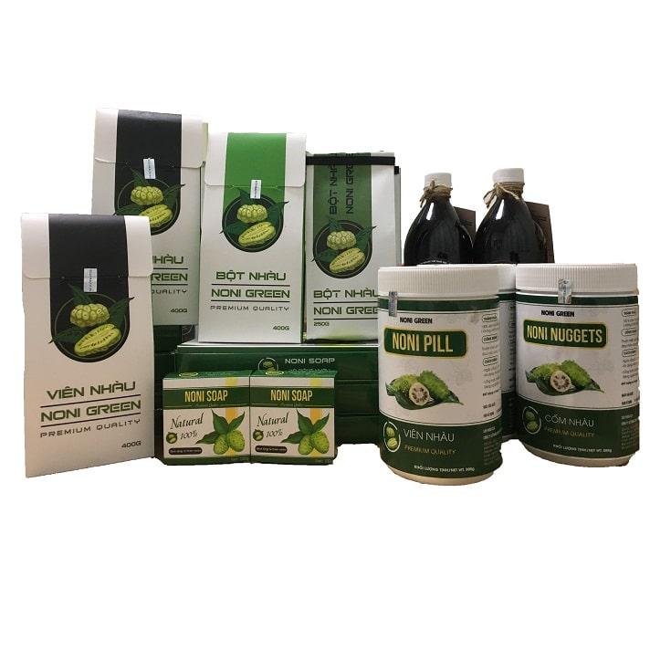 [Combo giảm 200k] Set 7 sản phẩm Noni Green - Bộ quà tặng