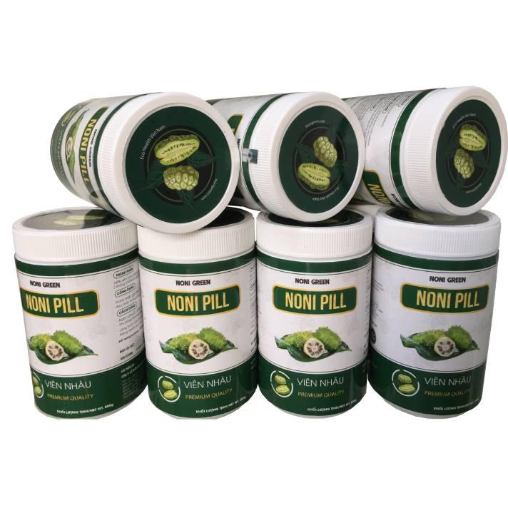 viên nhàu nguyên chất noni green