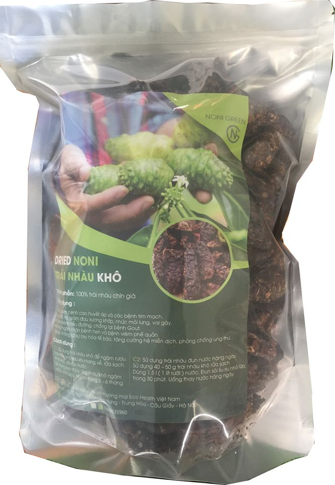 [Mua 3 tặng 1] Combo 3kg trái nhàu/ quả nhàu khô loại chuyên dùng ngâm rượu