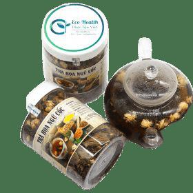 Trà hoa ngũ cốc hộp nhựa - Ship COD toàn quốc