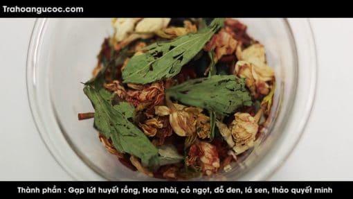 thành phần trà hoa ngũ cốc Thanh Hương