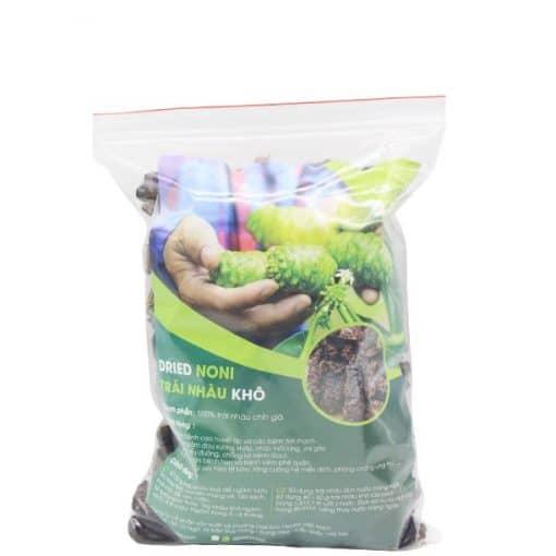 1kg Trái nhàu khô thái lát ngang